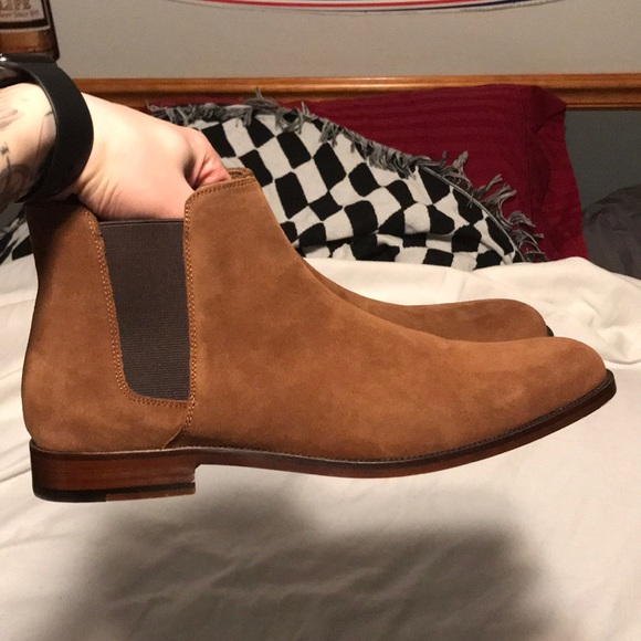 fantastic savings catch classic style Aldo Chelsea boots size 10.5 in men's